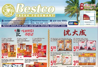 BestCo Food Mart (Scarborough) Flyer July 30 to August 5