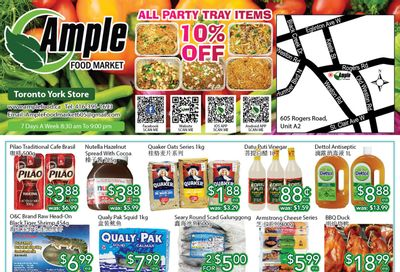 Ample Food Market (North York) Flyer July 30 to August 5