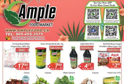 Ample Food Market (Brampton) Flyer July 30 to August 5