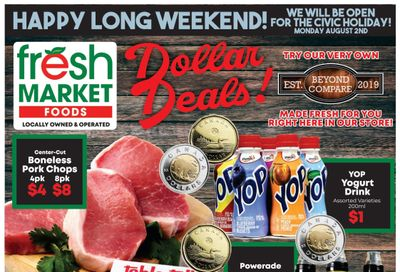 Fresh Market Foods Flyer July 30 to August 5