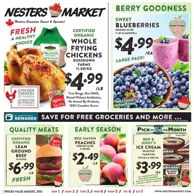Nesters Market Flyer August 1 to 7