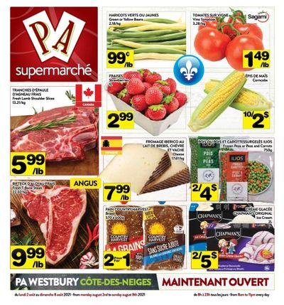Supermarche PA Flyer August 2 to 8