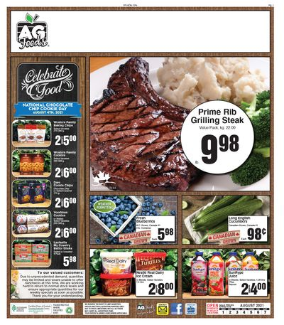 AG Foods Flyer August 1 to 7
