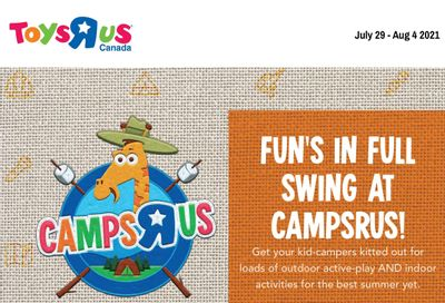 Toys R Us Flyer July 29 to August 4