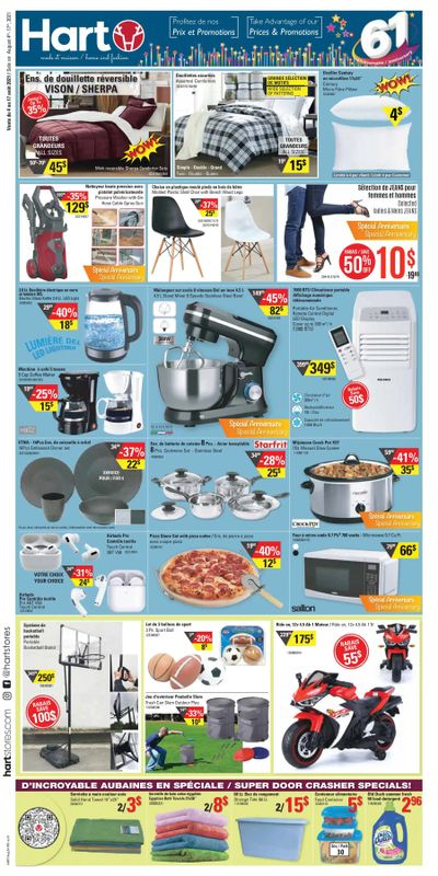 Hart Stores Flyer August 4 to 17