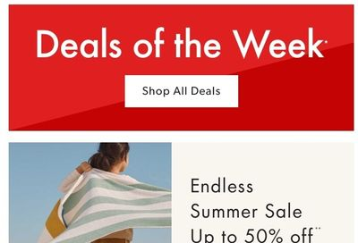 Chapters Indigo Online Deals of the Week August 2 to 8