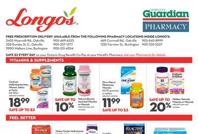Longo's Pharmacy Flyer August 5 to September 1