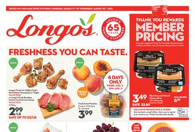 Longo's Flyer August 5 to 18