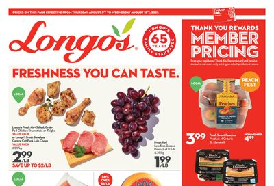 Longo's (Ancaster & Liberty Village) Flyer August 5 to 18