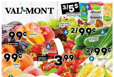 Val-Mont Flyer August 5 to 11