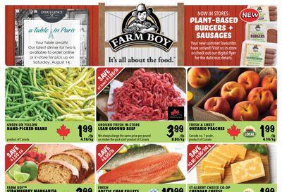Farm Boy Flyer August 5 to 11