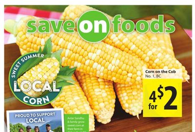 Save on Foods (BC) Flyer August 5 to 11