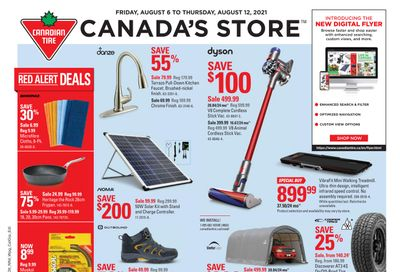 Canadian Tire (ON) Flyer August 6 to 12