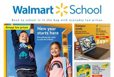 Walmart School Flyer August 5 to September 8