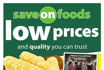 Save on Foods (AB) Flyer August 5 to 11