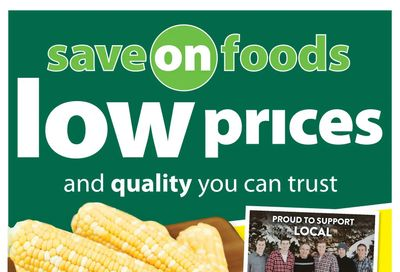 Save on Foods (SK) Flyer August 5 to 11