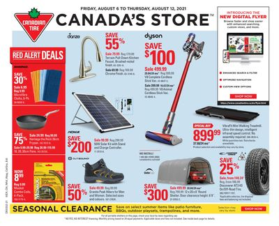 Canadian Tire (West) Flyer August 6 to 12