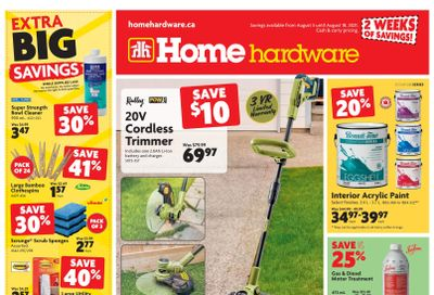 Home Hardware (BC) Flyer August 5 to 18