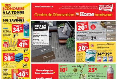 Home Hardware Building Centre (QC) Flyer August 5 to 18