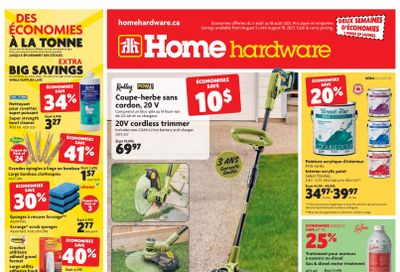 Home Hardware (QC) Flyer August 5 to 18