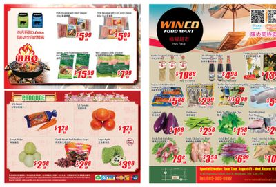 WinCo Food Mart (HWY 7) Flyer August 5 to 11