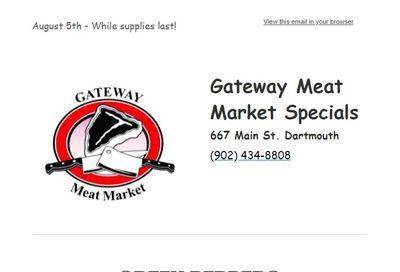 Gateway Meat Market Flyer August 5 to 11