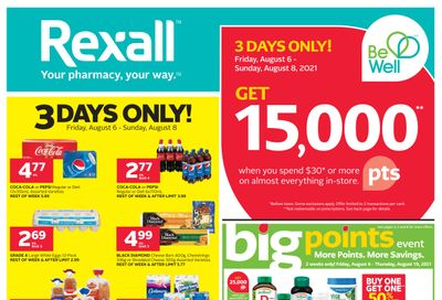 Rexall (ON) Flyer August 6 to 19