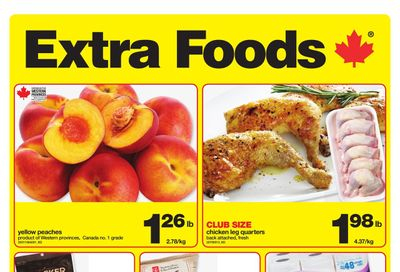 Extra Foods Flyer August 6 to 12