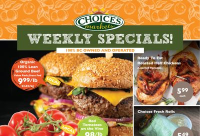Choices Market Flyer August 5 to 11
