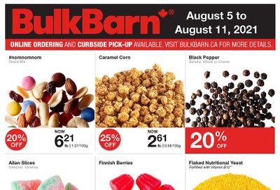 Bulk Barn Flyer August 5 to 11