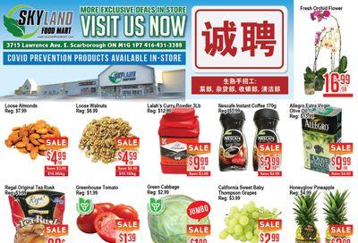 Skyland Food Mart Flyer August 6 to 12