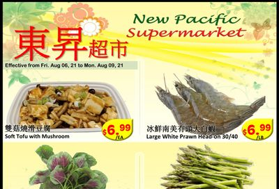 New Pacific Supermarket Flyer August 6 to 9