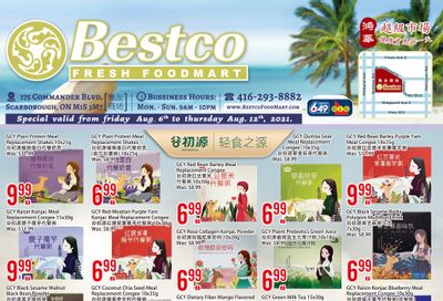 BestCo Food Mart (Scarborough) Flyer August 6 to 12