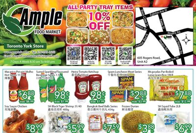 Ample Food Market (North York) Flyer August 6 to 12