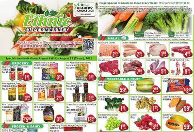 Ethnic Supermarket Flyer August 6 to 12