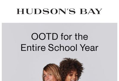 Hudson's Bay Flyer August 6 to 12