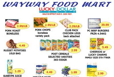 WayWay Food Mart Flyer August 6 to 12