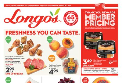 Longo's Flyer August 12 to 18