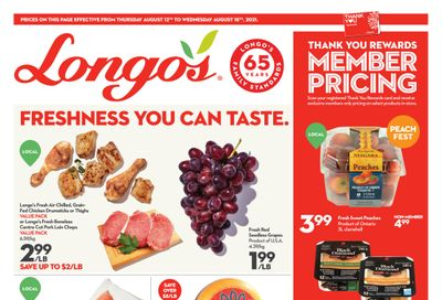 Longo's (Ancaster & Liberty Village) Flyer August 12 to 18