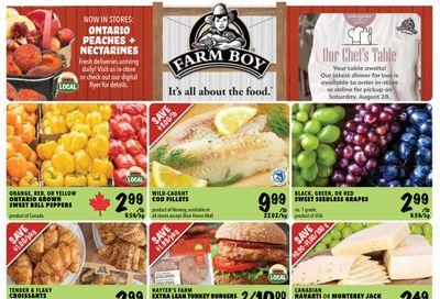 Farm Boy Flyer August 12 to 18