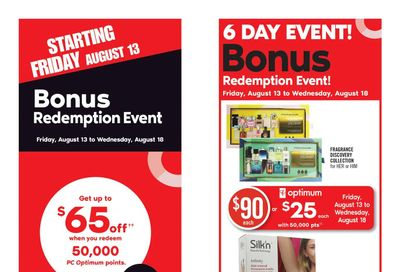 Shoppers Drug Mart (ON) Flyer August 14 to 19