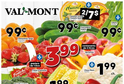 Val-Mont Flyer August 12 to 18