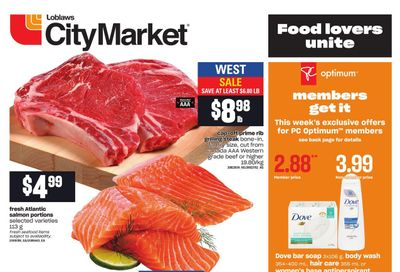 Loblaws City Market (West) Flyer August 12 to 18