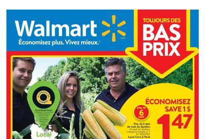 Walmart (QC) Flyer August 12 to 18