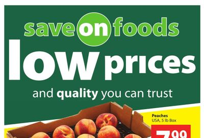 Save on Foods (AB) Flyer August 12 to 18