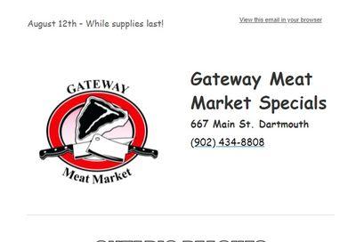 Gateway Meat Market Flyer August 12 to 18