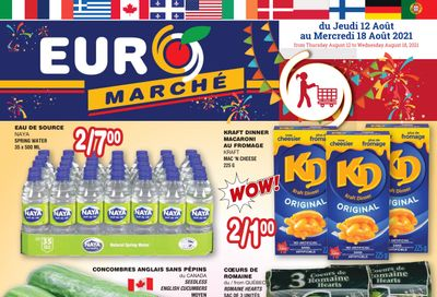 Euro Marche Flyer August 12 to 18