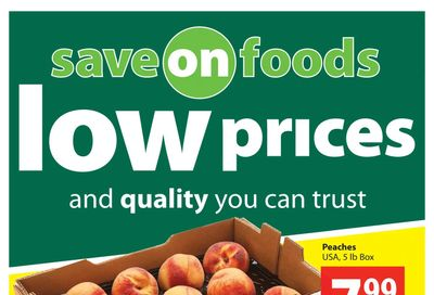 Save on Foods (SK) Flyer August 12 to 18