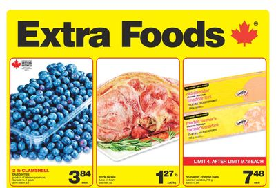 Extra Foods Flyer August 13 to 19