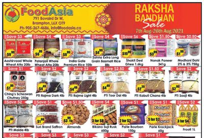 FoodAsia Flyer August 7 to 26